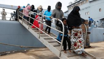 Guardia costera de libia rescata a más de 250 inmigrantes