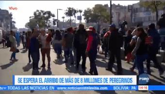 Llegan 3 Millones Peregrinos Basílica Guadalupe Delegación Gustavo A Madero