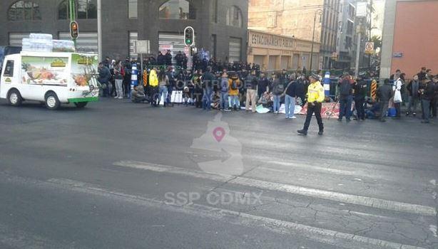 Por segundo día, manifestantes provocan afectaciones viales en la CDMX