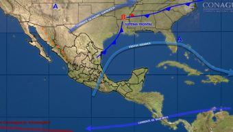 Prevén incremento de temperaturas en la mayor parte de México