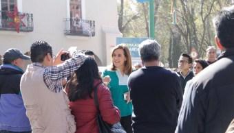 Margarita Zavala, confiada en lograr firmas para candidatura independiente