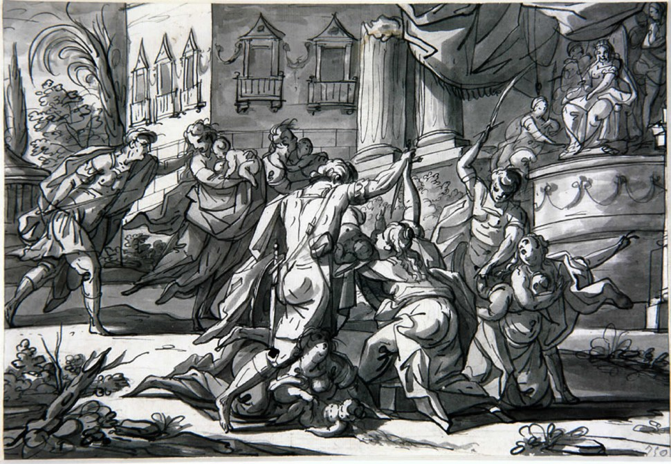 Matanza de los inocentes por Miguel de Verdiguier