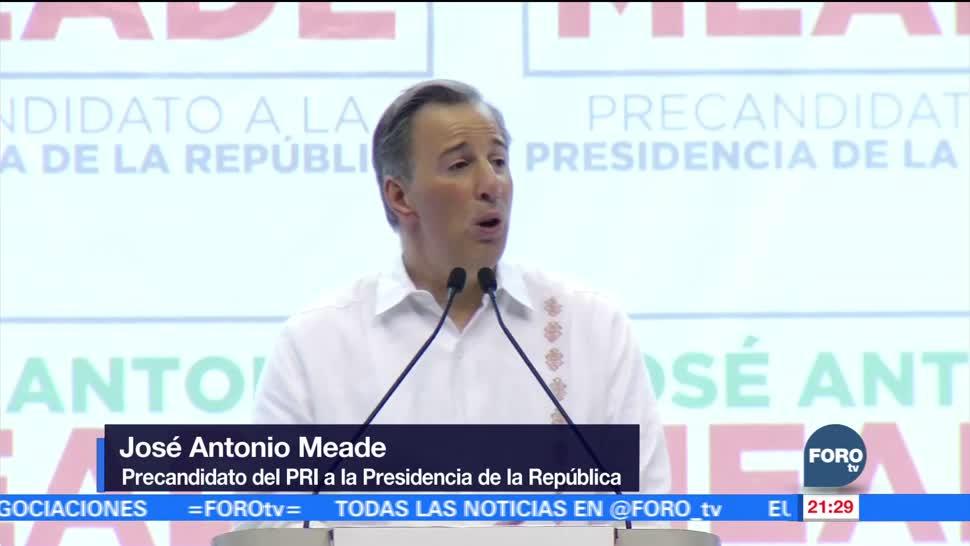 José Antonio Meade Meade inicia precampaña en Chiapas