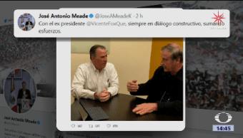 Meade Sostiene Encuentro Fox José Antonio