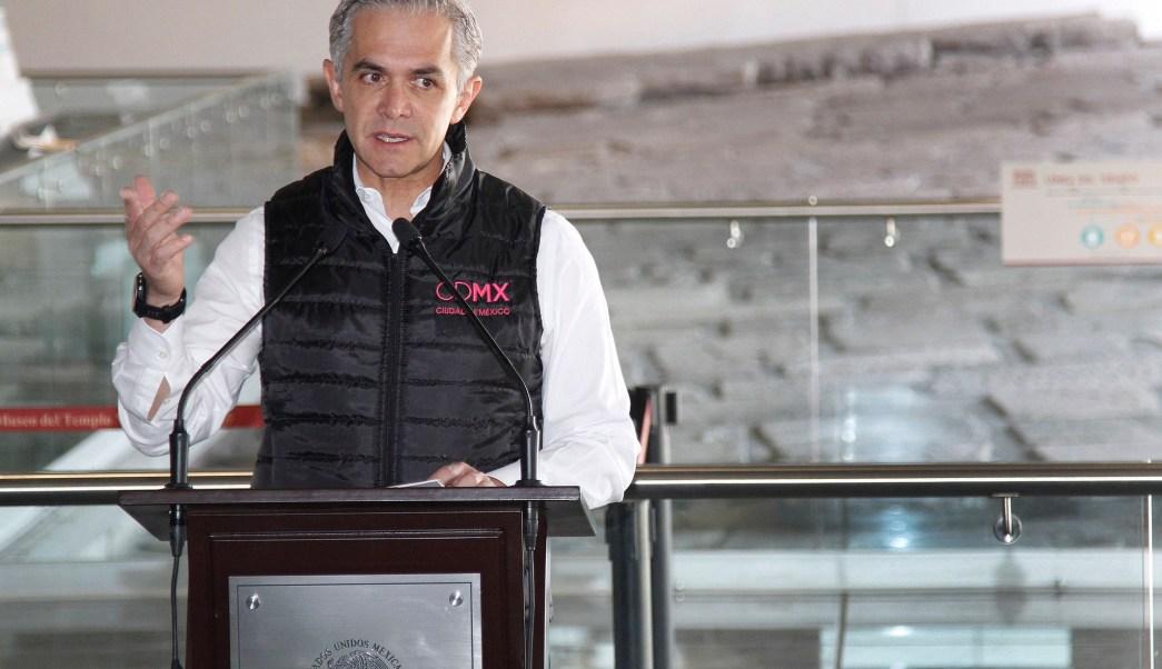 Miguel Angel Mancera critica la propuesta de amnistía de AMLO