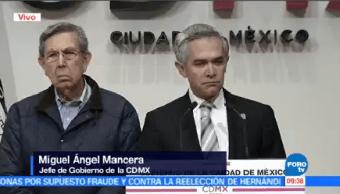 Miguel Ángel Mancera Anuncia Permanecerá Frente Gobierno Cdmx