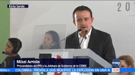 Mikel Arriola Registra Precandidato Pri Gobernar Cdmx