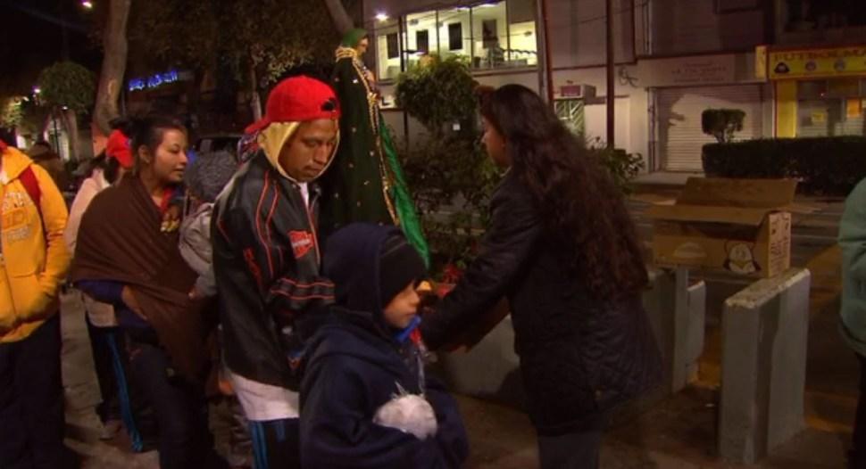Miles de peregrinos llegan a la Basílica de Guadalupe