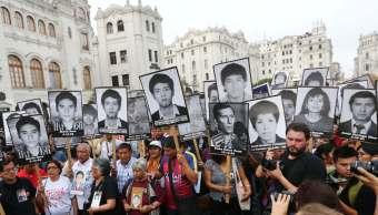 Miles peruanos marchan indulto Alberto Fujimori