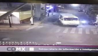 detienen sujeto robo motocicleta avenida oceania cdmx