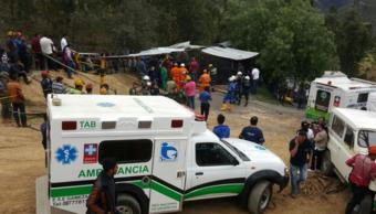 Confirman seis muertos explosión mina Colombia