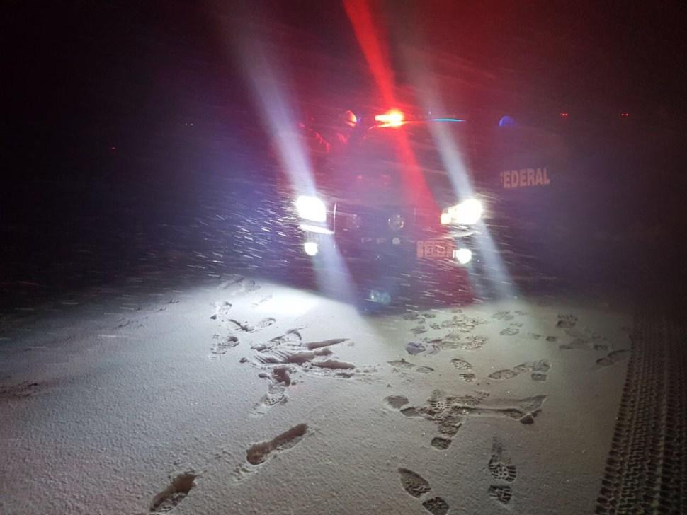 Registran nevadas en 19 municipios de Chihuahua; suspenden clases en capital