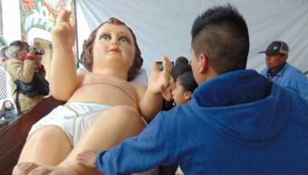 Regresa a Nezahualcóyotl el Niño Dios más grande del mundo