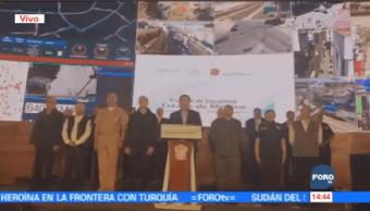 Osorio Chong Termina Reunión Seguridad Estado México