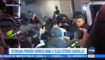 Otorgan Prisión Domiciliara Elba Esther Gordillo