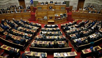 Parlamento Grecia aprueba presupuesto año 2018