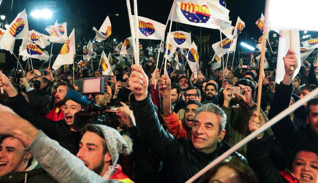 Ciudadanos, el partido más votado en un Parlamento catalán con mayoría independentista