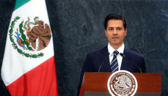 EPN envía Congreso iniciativas leyes sobre justicia cotidiana