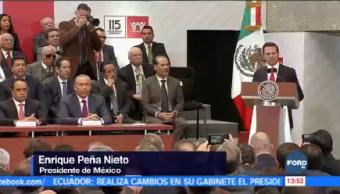 Peña Nieto Asiste 115 Asamblea General Infonavit Presidente Enrique