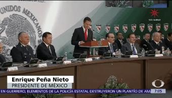 Peña Nieto luz verde Ley Seguridad Interior