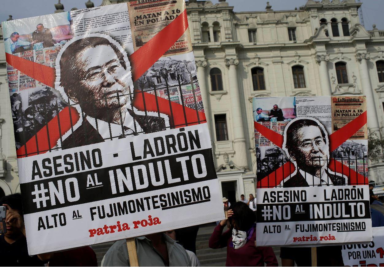 Expertos de la ONU critican el perdón otorgado al expresidente peruano Fujimori