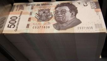 El peso mexicano se aprecia por presión del dólar
