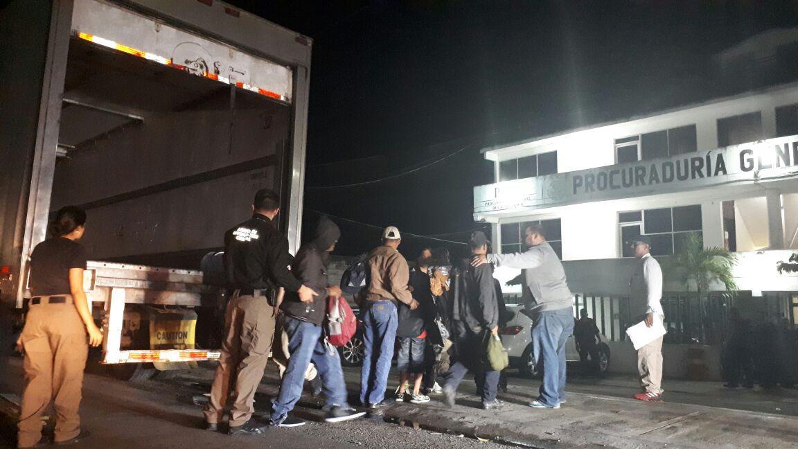 Rescatan en Tabasco a más de 150 indocumentados