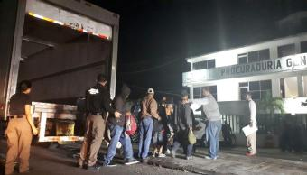 rescatan a 153 indocumentados en Cunduacán, Tabasco