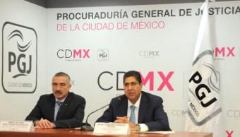 Procuraduría General de Justicia capitalina esclarece feminicidio