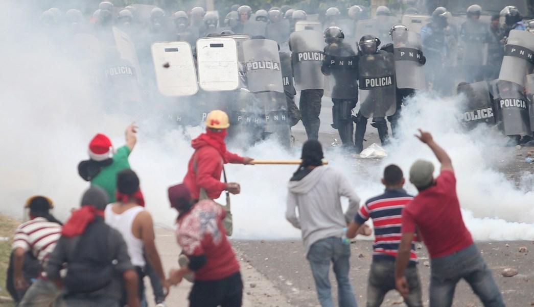 Protestas resultado electoral dejan muerto y 20 heridos Honduras