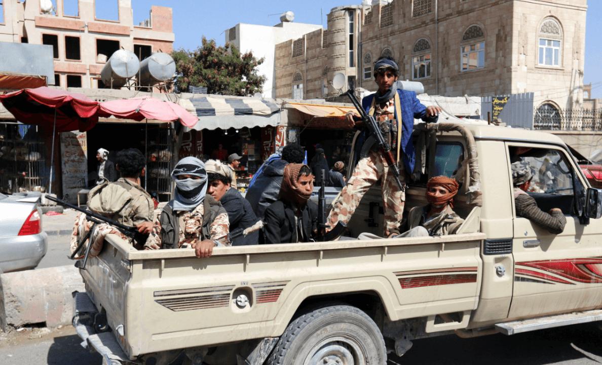 Rebeldes hutíes en Yemen. (EFE)