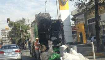 CDMX generó 13 mil toneladas basura diario