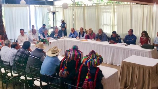 subsecretarios segob visitan chiapas conflicto