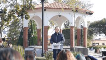Ricardo Anaya arranca precampaña Amealco, Querétaro