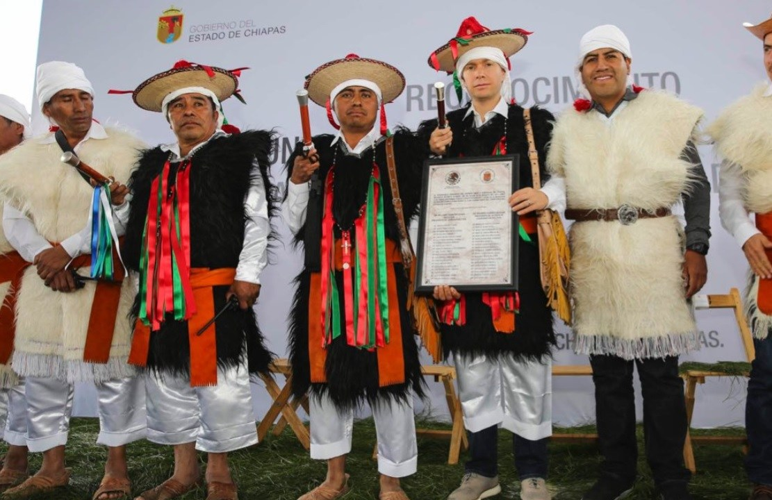rincon chamula san pedro se oficializa como municipio 123 chiapas