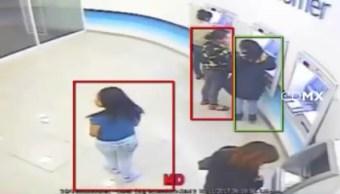 Detienen a tres personas por robo a cuentahabientes en la CDMX