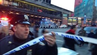 reportan explosion en mahattan, times square