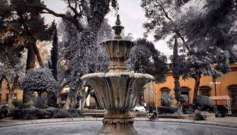 Bajas temperaturas por aire polar permanecen en San Luis Potosí