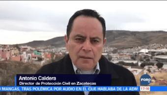 Registra Primer Deceso Ola Frío Zacatecas