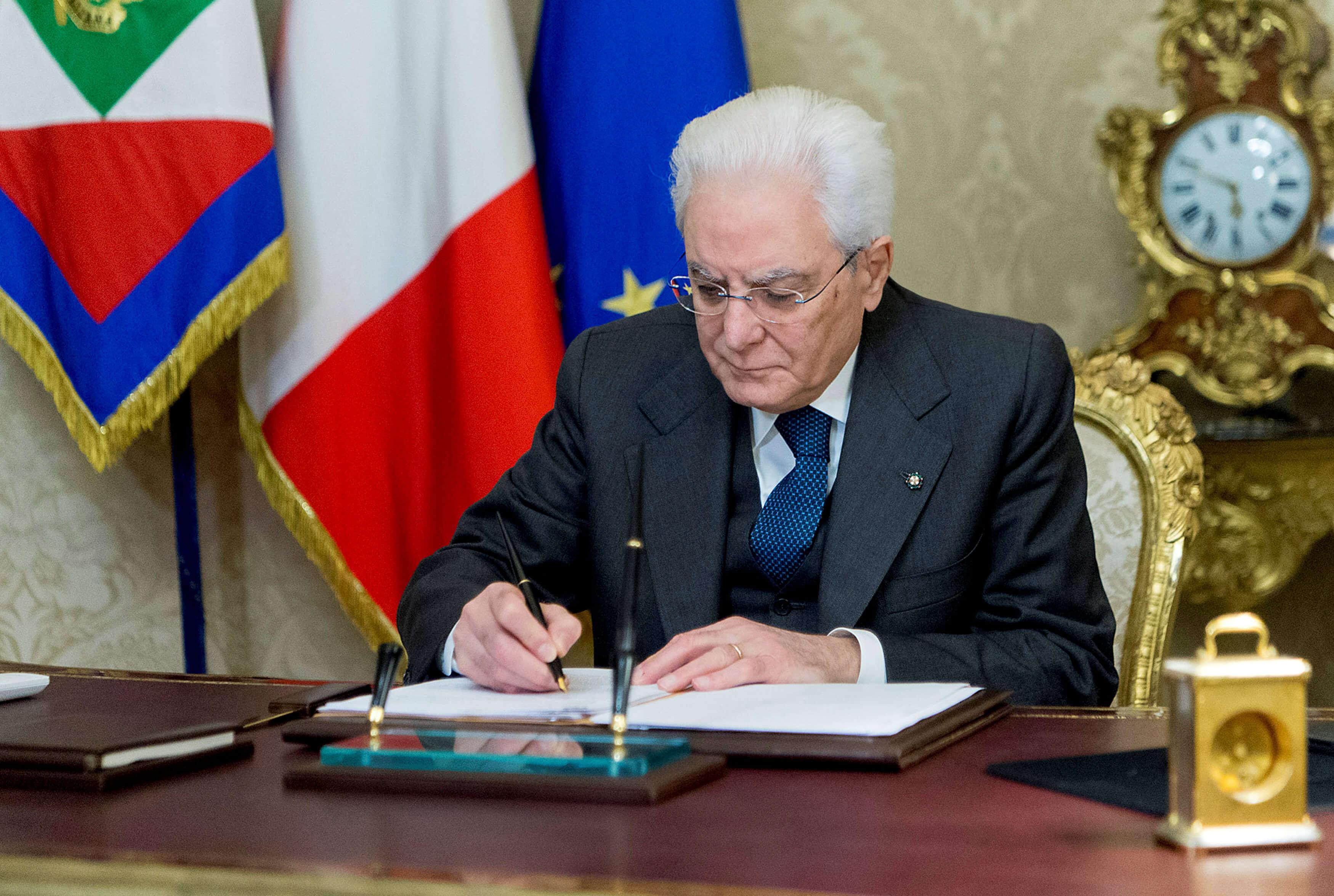 Presidente italiano disolvió el Parlamento en vistas a elecciones legislativas