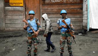 Rebeldes atacan a fuerzas de paz de ONU en Congo; 14 muertos