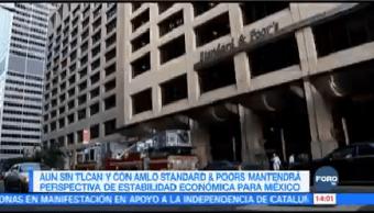 Standard And Poor's Mantiene Perspectiva México