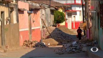 viviendas con valor historico, en lista de espera para reconstruccion en tehuantepec, oaxaca