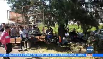 Vehículo Atropella Grupo Peregrinos Estado De México