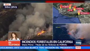 Vientos De Santa Ana Podrían Retomar Fuerza Próximo Domingo