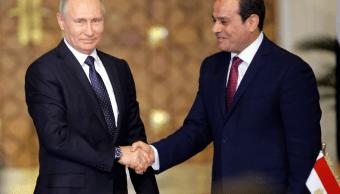 Vladimir Putin y Abdelfatah al Sisi alcanzan acuerdo sobre planta nuclear