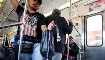 enfrentamiento vendedores ambulantes y policias deja seis detenidos metro tacubaya