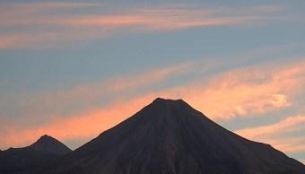 volcan de colima entre en un periodo de baja actividad