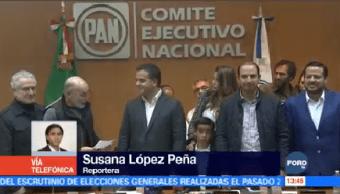 Zepeda Asume Presidencia Pan Salida Anaya