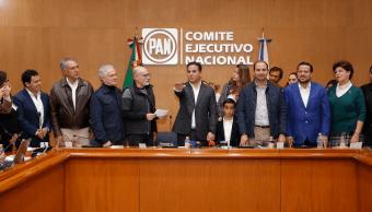 Damián Zepeda, nuevo presidente nacional del PAN
